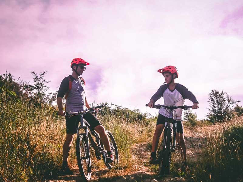 trasa rowerowa Bia艂y Krzy偶 Schronisko Przys艂op