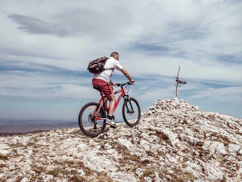 trasa rowerowa Skrzyczne Malinowska Skała Przełęcz Salmopolska