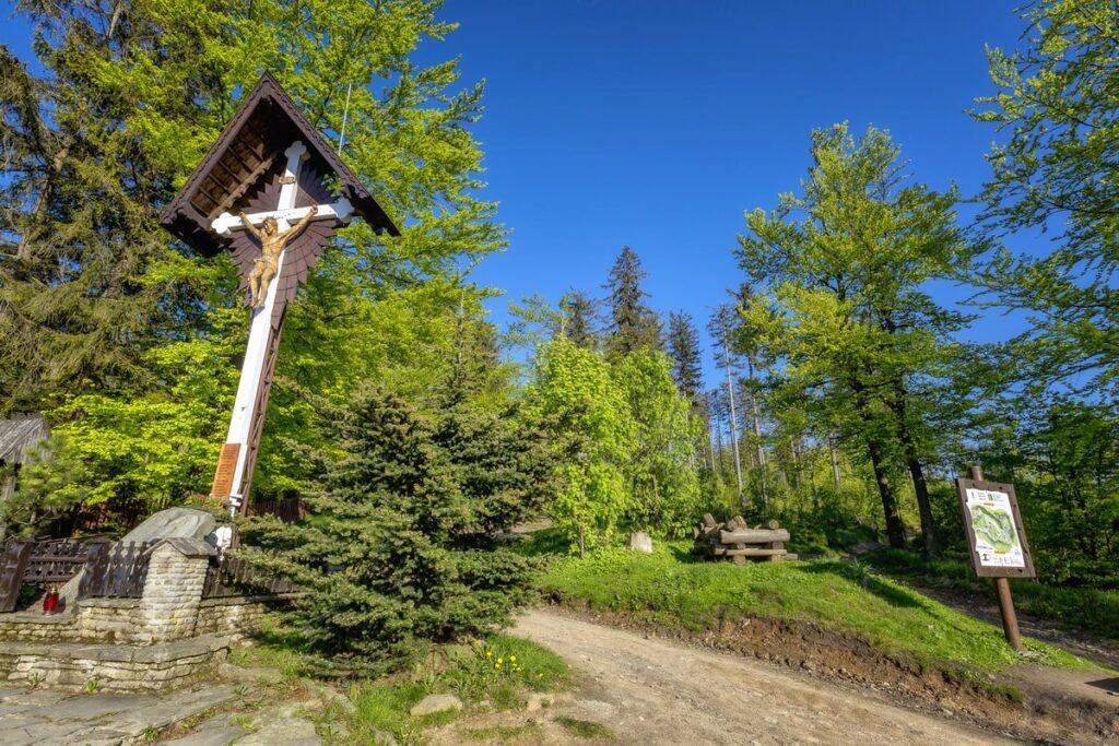 biały krzyż przełęcz salmopolska